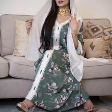 AB009 Long Dress Abaya 2021 Woman Khimar Muslim Woman Hijab Set Female Arabic Prayer Clothing World Apparel Store White Scarf