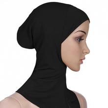 Muzułmańskie Underscarf kobiety welon hidżab szale na głowę muzułmanki szalik turbany głowy dla kobiet kobiet Hijabs czapki hidżab kapelusz islamski tanie tanio CN (pochodzenie) Wewnętrzna hijabs COTTON Dla dorosłych NONE Model Women s Hijabs Moda muslim woman scarf Muslim women hijab