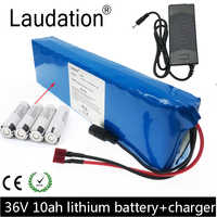 Laudation 36V 10ah vélo électrique batterie pack 36V 18650 batterie pack 500W haute puissance et capacité moto Scooter avec BMS