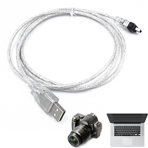 1.5m USB Data Cable Firewire 1394 For MINI DV HDV Camcorder To Edit Pc 1394 AM To 4P 4P To 6P,6P(China)