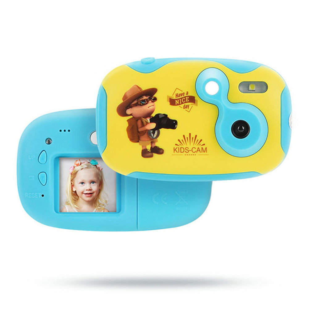 Photography Mini Toddler Photo Neck Strap HD Digital Toy Kids Camera Gift Cartoon Educational Anti Fall