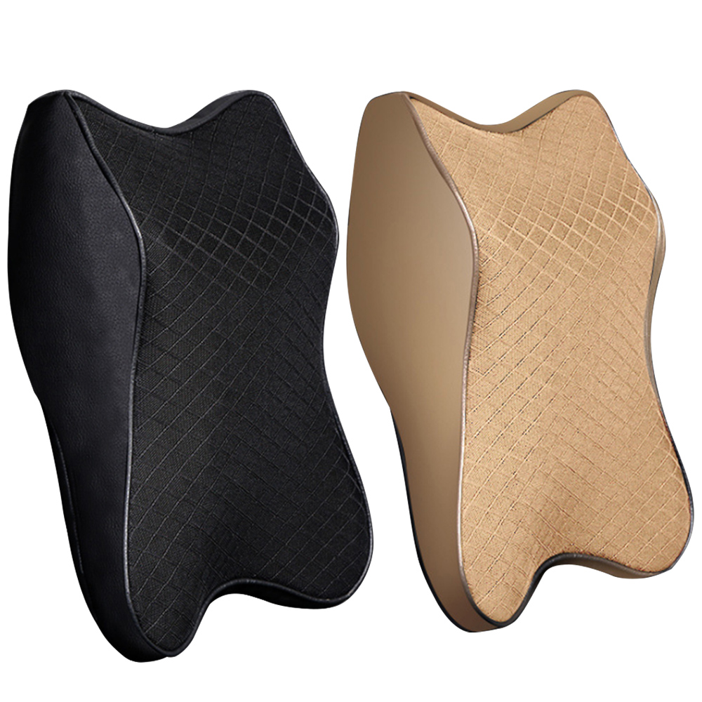Adjustable Car Neck Pillow 3D Memory Foam Head Rest Auto Headrest Pillow Travel Neck Cushion Support Holder Seat Pillow New