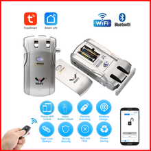 Door-Lock Fingerprint-Lock Remote-Control-Locks Wifi Wafu 019 Electronic Wireless