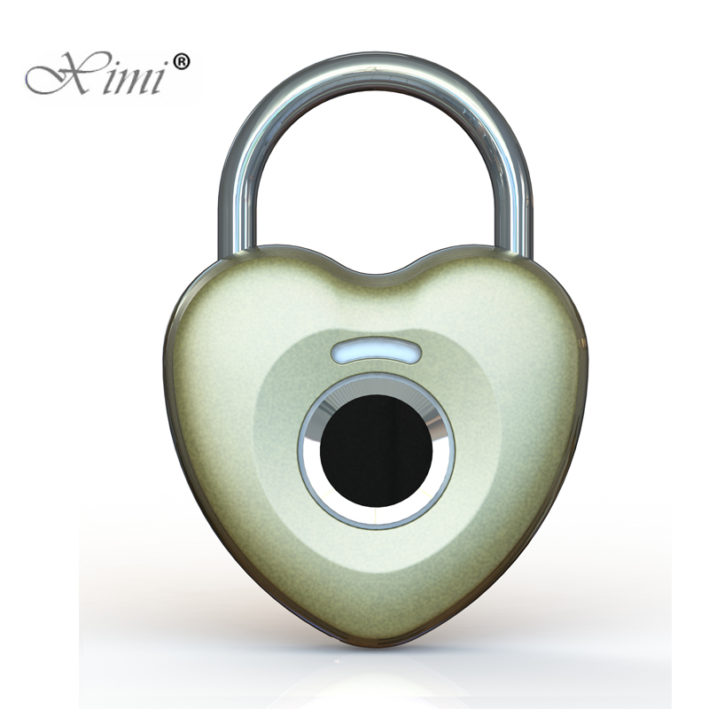 New!!Keyless USB Rechargeable Door Lock Fingerprint Smart Padlock Quick Unlock Zinc Alloy Metal Self Developing Chip