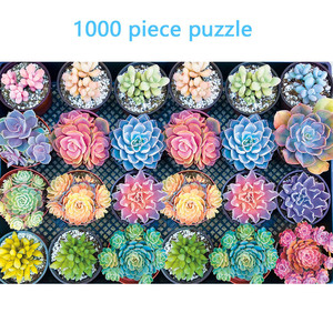 Succulent Plants puzzle 1000 p