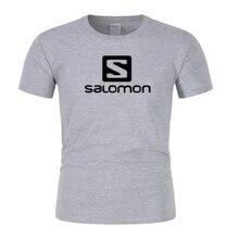 Camiseta de impressão s nova marca 100% algodão dos homens cor pura manga curta dos homens t S-XXL