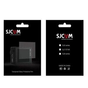 Image 5 - Için SJ8 Pro/Artı/Hava Kamera Lens Kapağı su geçirmez muhafaza Hood Süper HD Ekran koruyucu film için Çerçeve Tutucu SJCAM SJ8 Aksesuarları