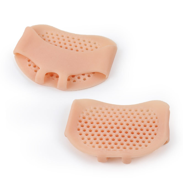 Silicone Padded Forefoot Cushions High Heel Shoes Pad Gel Insoles Breathable Health Care Shoe Insole High Heel Shoe Insert 5