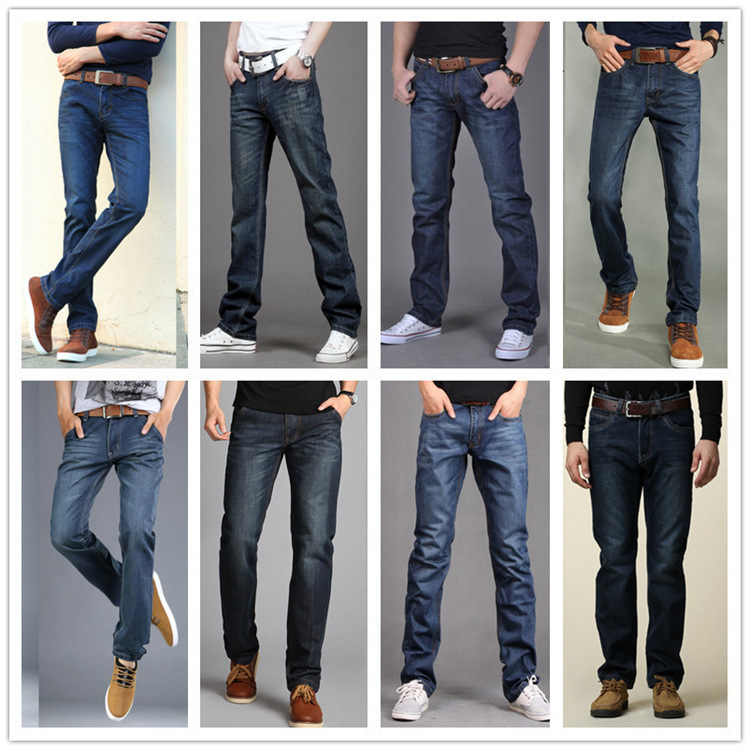 2019 Summer New Style Jeans Men's Korean-style Slacks MEN'S Jeans Supply Of Goods Straight Cost Out