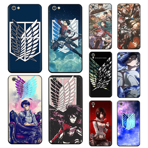 Attack On Titan Anime Soft Silicone phone case for OPPO Reno 2 Z 10X 2Z 2F Ace 3 Pro Realme 2 A5 3 5 Pro Q X2 XT X50 X Lite(China)