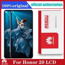 Original Display 6,26 zoll Für Huawei Ehre 20 honor20 LCD Display Touchscreen Digitizer Montage mit rahmen Für honor 20 lcd
