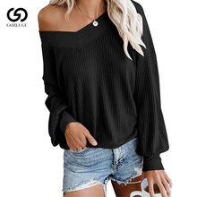 Autumn  Fashion Long Sleeve Sweater Woman Pullover Casual Knitted Streetwear