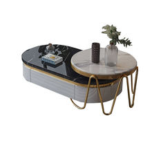 Furniture Tea-Table Marble TV Modern Nordic of Cabinet-Combination-Set Multi-Functional