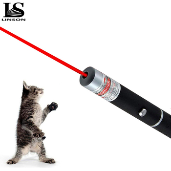 цена на LED Laser Pet Cat Toy 5MW Red Dot Laser Light Toy Laser Sight 530Nm 405Nm 650Nm Pointer Laser Pen Interactive Toy with Dog