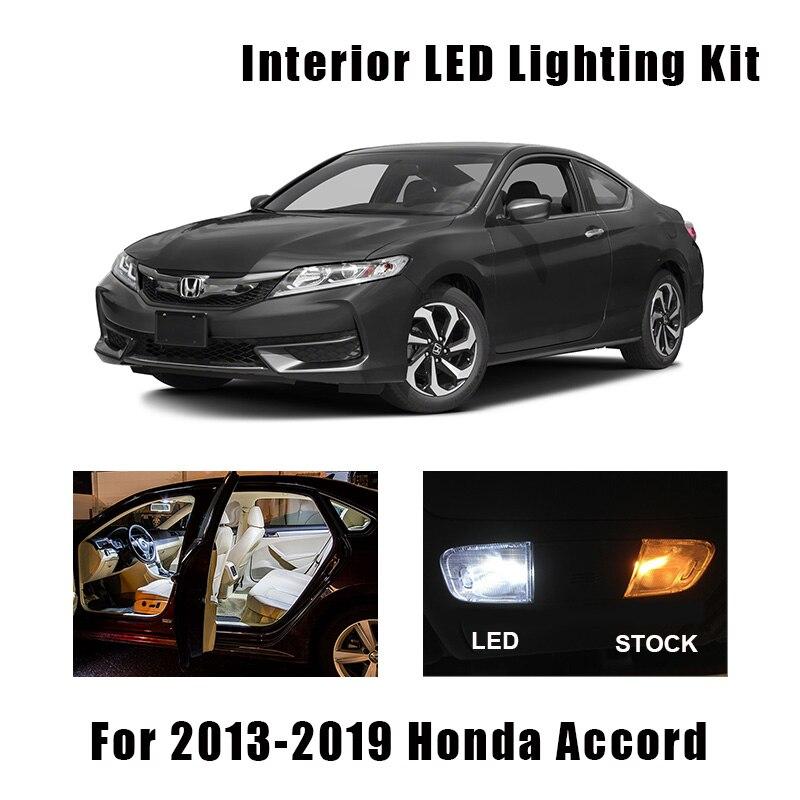 Reverse Lights Fit For 2006-2011 Honda Civic 8pcs White LED Interior Bulbs