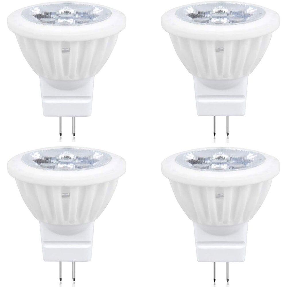 GU4 MR11 Светодиодный 12 В лампа Би основа заколки G4 Светодиодный прожектор AC DC 12 В пейзаж встраиваемый трек свет 35 Вт G4 галогенная лампа замена