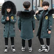 Coat Jacket Boys Winter Padded-Clothing Parker Kids Children's Thick Big Down Cotton