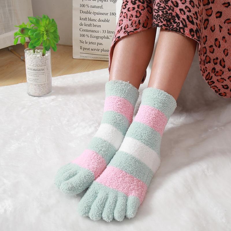 3 Pairs Women Ladies Sleeping Thermal  Warm Winter Cosy Bed Fleece Lined Socks