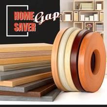 Home Gap Saver Edge Supply Plywood Edge Banding Pre-glued Real Wood Veneer Edging PVC Furniture Cabinet Wood Surface Restoration