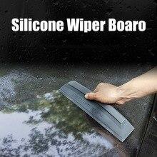 1 stücke Weiche Silikon Nicht Scratch Flexible Handliche Rakel Klinge Auto Wrap Werkzeuge Wasser Fenster Wischer Trocknung Klinge Sauber schaben