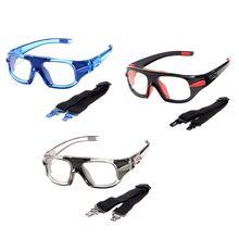 Спортивные очки для баскетбола, футбола, защитные очки для глаз, оптическая оправа, съемные зеркальные ножки, близорукость