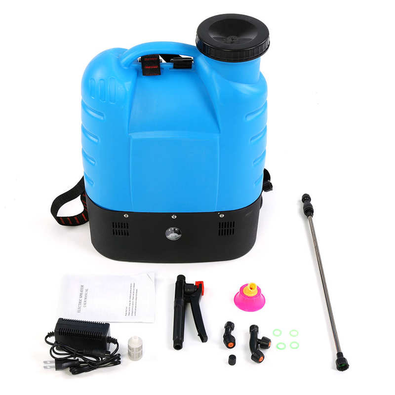 16L Electric Backpack Type Agricultural High Pressure Sprayer Gardening Tool 110V US Plug Paint Gun Garden Supplies-3