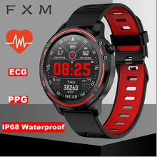 FXM ecg ppg smart watch men ip68 waterproof  sports health smartwatch for Android IOS women fashion mens WATCH+BOX