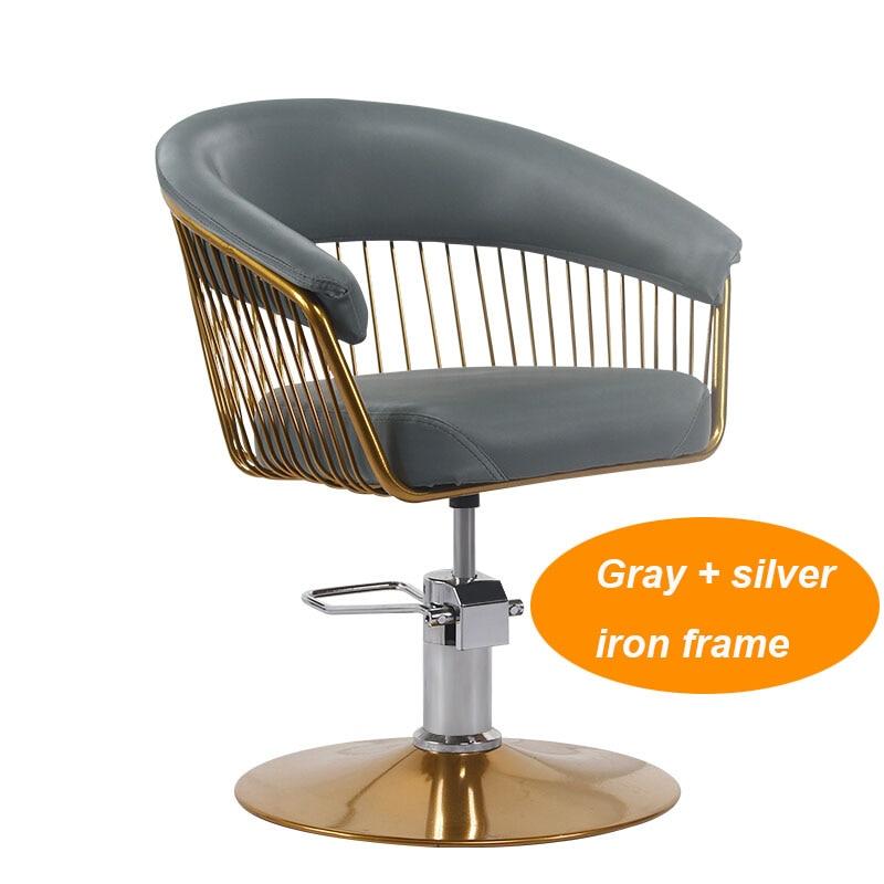 Hairdresser Chair Haircut Jobs Hair Cutting Chair Hair Salon Rotate Lifting Beauty Salon Chair Simple
