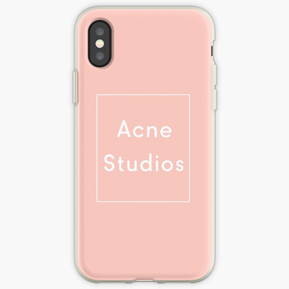 Galleria fotografica Acne Studios Transparent Case For Apple iPhone X XSMAX XR case for iPhone 6 6s 5 5s 7plus 8plus iphone 7 8 case