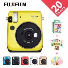 6 Màu Sắc Máy Ảnh Chụp Lấy Ngay Fujifilm Instax Mini 70 Ảnh Tức Thì Ngay Đỏ Đen Xanh Dương Vàng Trắng Vàng