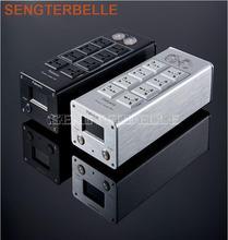 2020 新モデル 2 道路スイッチ 3000 ワット 15A AC 電源コンセント高度なフィルターオーディオ保護フィルター