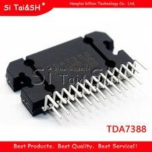1 pçs tda7388 7388 4x41w ponte amplificador de áudio do carro ic zip