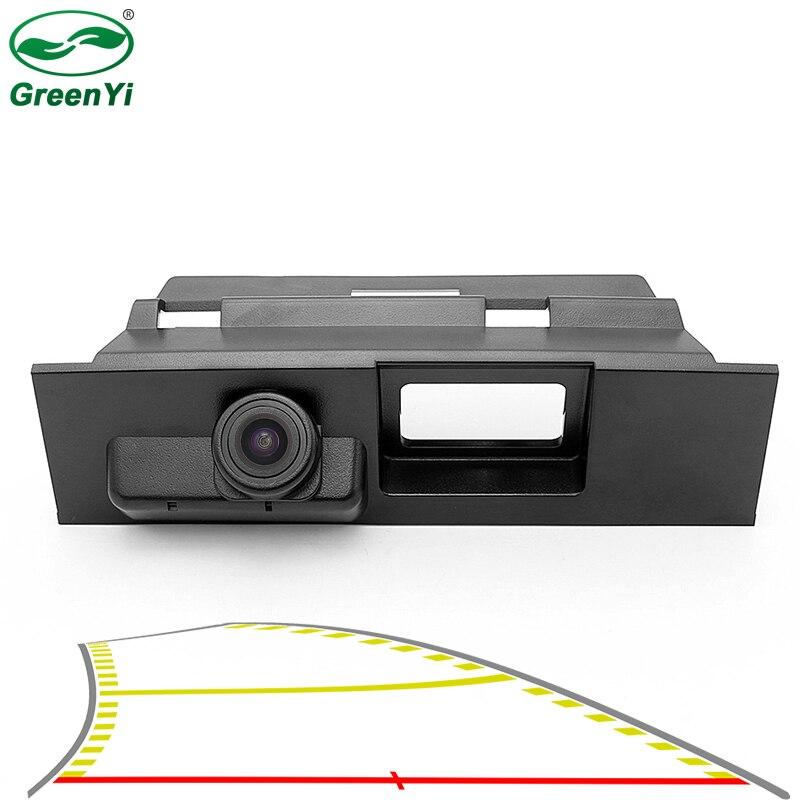 Hd 4089 t dinâmica trajetória estacionamento linha faixas do carro tronco lidar com câmera de visão traseira para ford novo mondeo 2014 2015 2016 2017