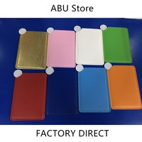 300pcs Makeup Mirror Stainless steel Unbreakable Small Mirror Wholesale Dropshipping OEM