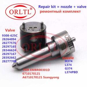 Image 1 - Bocal l374pbd h374 injector válvula 9308 625c kits de reparação (7135 583) para delphi embr00301d