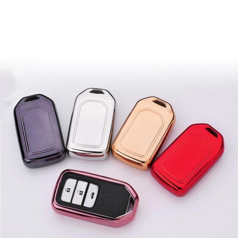 Car Key Case Coat Protector Holder For Honda Accord Civic CR V Clarity Fit HR V Odyssey Pilot Ridgeline Insight|Key Case for Car| |  - title=