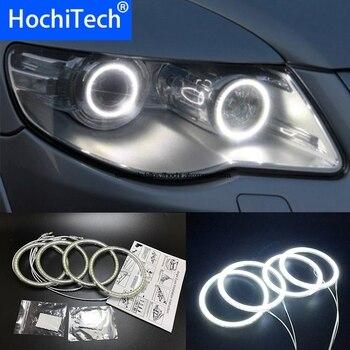 HochiTech para Volkswagen VW Touareg 2007-2010 SMD Ultra brillante LED blanco de Ojos de Ángel 12V anillo de halo kit luz de circulación diurna DRL