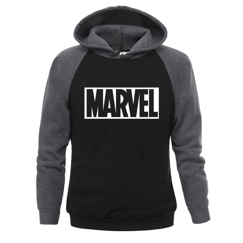 2019 Autumn Winter MARVEL Hoodies Spiderman Men Hoodie Sweatshirts Tops Casual New Male Tracksuit The Avengers Brand Pullovers
