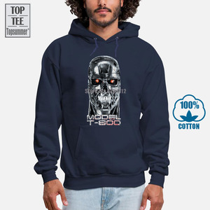 The Terminator Hoodie Men Hoodies Women Top Summer Black Sweatshirt Cotton Men Streetwear Oversized Hoodie Men Men Hoodies A0034