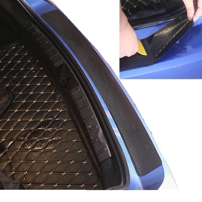 Автомобильная задняя защитная накладка наклейка автомобильный бампер для renault clio 3 opel corsa opel meriva megane 4 dacia sandero stepway leon fr