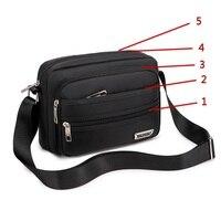 Сумка мужская с ремнём на плечо небольшая сумочка для мелких вещей 1