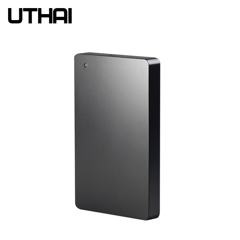 UTHAI G12 USB3.0 Mobile HDD Enclosure Hard Disk Box External Screw Free Design Black Hard Drive Case Mobile HDD Box
