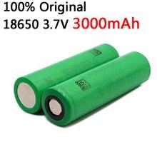 2pcs 100% original 3.7V 3000 mAh Li ion rechargeable 18650 battery for us18650 vtc6 20A 3000mAh for Sony toys tools flashlight