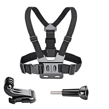Chest Strap mount belt for Gopro hero 7 6 5 4 3+ 3 Xiaomi yi 4K Action camera Chest Harness for SJCAM SJ4000 sport cam fix handheld gimbal adapter switch mount plate for gopro 6 5 4 3 3 yi 4k camera for dji osmo for feiyu zhiyun smooth q gimbal