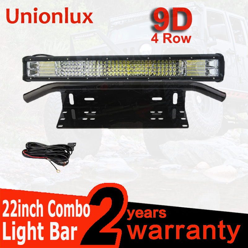 Auto 22inch Combo LED Light Bar Off Road 12V + 23