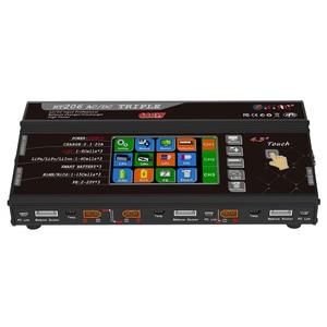 "Image 2 - Balance Ladegerät HT206 AC/DC TRI Triple Port 200W * 3 20A 4.3 ""Farbe LCD Touch Screen für Lilon/LiPo/LiFe/LiHV/Nicd/NiMh PB Batterie"