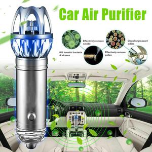 Image 1 - Purificador de ar do carro 12v auto carro purificador de ar fresco iônico barra oxigênio ozônio ionizador mais limpo carro ambientador accessries
