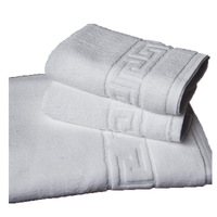 3PCS 100% Cotton Embroidered Beach Bath Towels Sets for Hotel Luxury Brand High Quality Soft Face Towels S 35x76cm*2 75x140cm*1