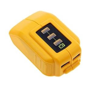 Image 4 - USB Chuyển Đổi Sạc Dành Cho 12V18V20V Pin Li Ion Bộ Chuyển Đổi Thay Thế DCB090 DCB091 Bộ Adapter Sạc USB Cung Cấp Điện
