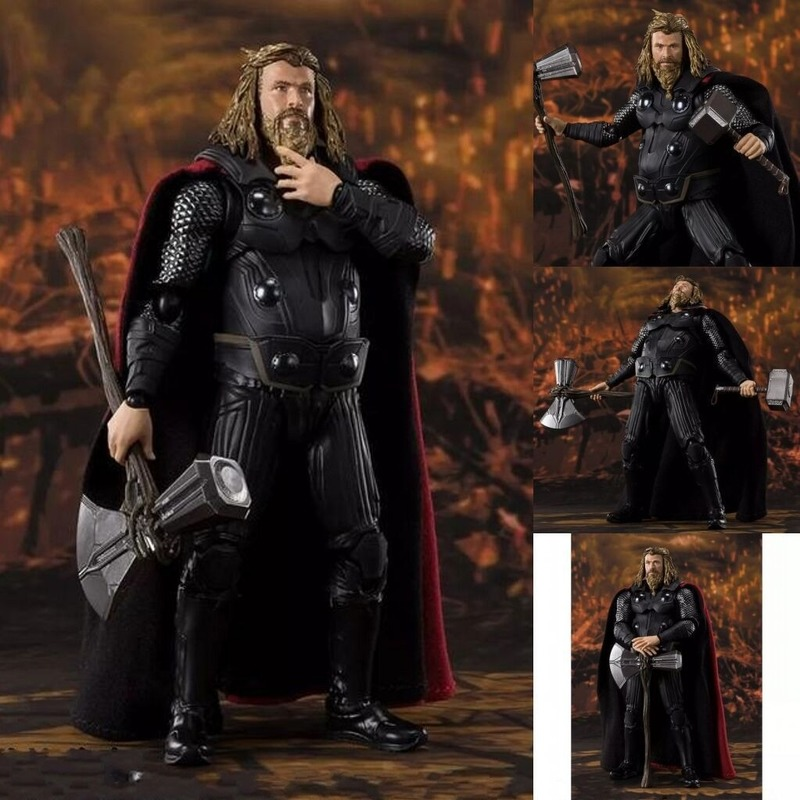 Anime Toy Avengers 3 2 Generation S Thor Infinite War Joint Movable Boxed Hand 16cm
